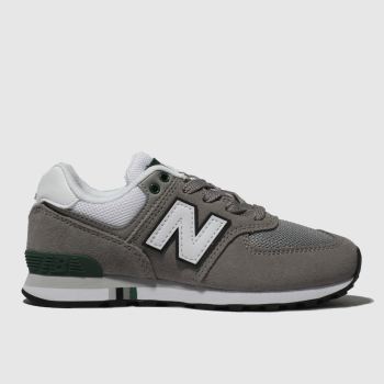New Balance Grau 574 Jungen Junior