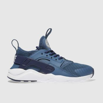 NIKE BLUE HUARACHE RUN ULTRA TRAINERS JUNIOR