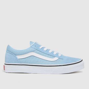 Vans Blue Old Skool Boys Junior