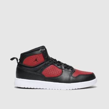 Nike Jordan Black & Red Access Boys Junior