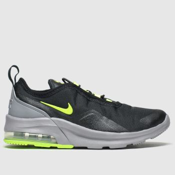 Nike Black & Green Air Max Motion 2 c2namevalue::Boys Junior