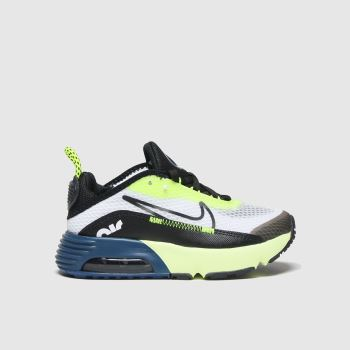 Nike White & Black Air Max 2090 Boys Junior