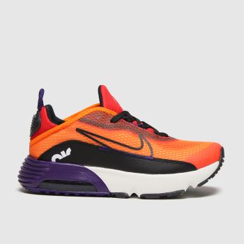 Nike Orange Air Max 2090 Boys Junior#