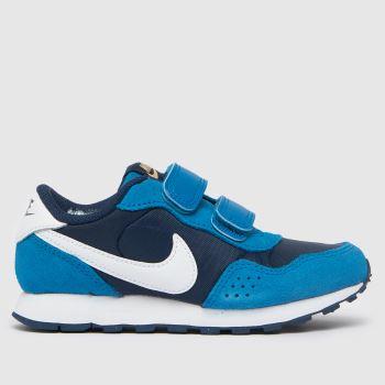 Nike Navy & Pl Blue Md Valiant Boys Junior