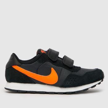 Nike Schwarz-Orange Md Valiant Jungen Junior