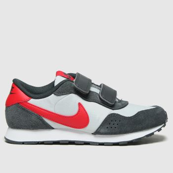Nike Grey & Black Md Valiant Boys Junior