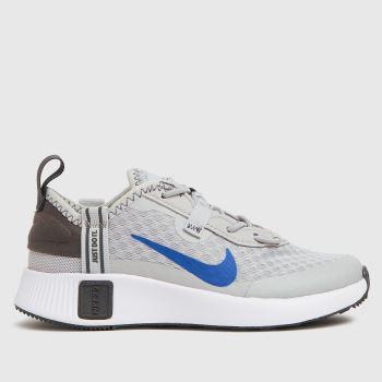 Nike Light Grey Reposto Boys Junior