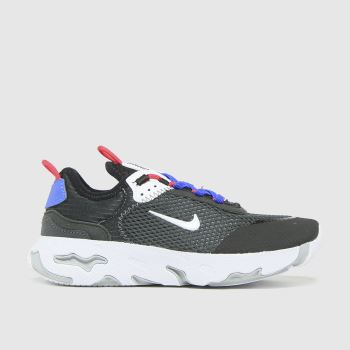 Nike Black & White React Live Boys Junior