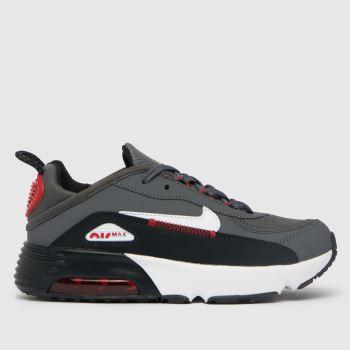 Nike Grey & Black Air Max 2090 C/s Boys Junior