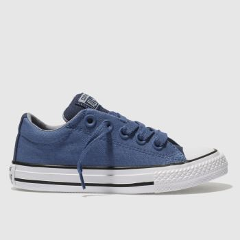 Converse Blue Chuck Taylor All Star Street Boys Junior