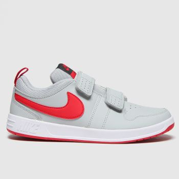 Nike Light Grey Pico 5 Boys Junior