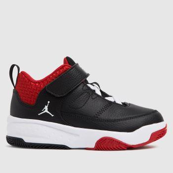 Nike Jordan Black & Red Max Aura 3 Boys Junior