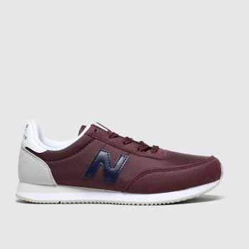 New Balance Burgundy 720 Boys Junior