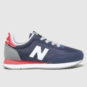 New balance Navy & Red 720 Boys Junior