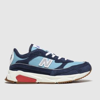 New Balance Navy & Pl Blue Xrc Boys Junior