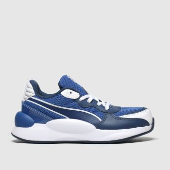 Puma Blue Rs 9.8 Player Boys Junior