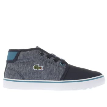 LACOSTE NAVY AMPTHILL BOYS JUNIOR JUNIOR