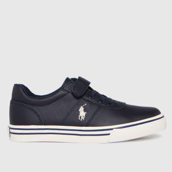 Polo Ralph Lauren Navy & White Hanford Ii Ps Boys Junior