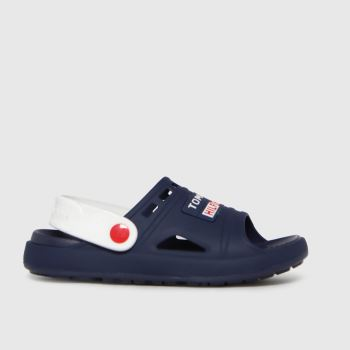 Tommy Hilfiger Navy & White Comfy Boys Junior