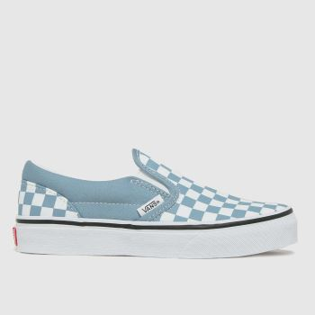 Vans Blue Slip-on Boys Junior