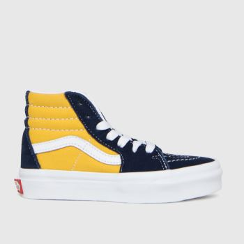 Vans Blue & Yellow Sk8-hi Boys Junior