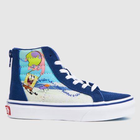 Vans Spongebob Sk8-hi Ziptitle=