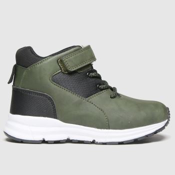 schuh Khaki Space Mid Boys Junior#