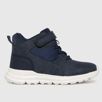 schuh Navy Space Mid Boys Junior