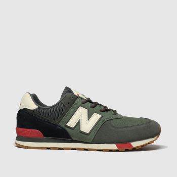 New Balance Khaki 574 Boys Youth