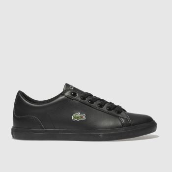 Lacoste Black Lerond Boys Youth
