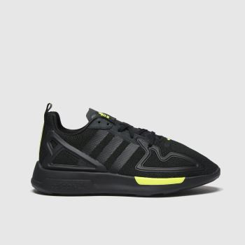 adidas Black Zx 2k Flux Boys Youth