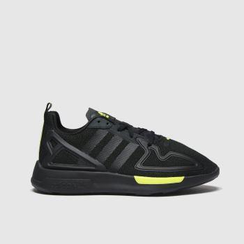 Adidas Black Zx 2k Flux Boys Youth#