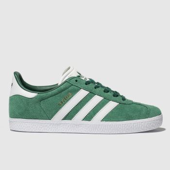 Adidas Dark Green Gazelle Boys Youth