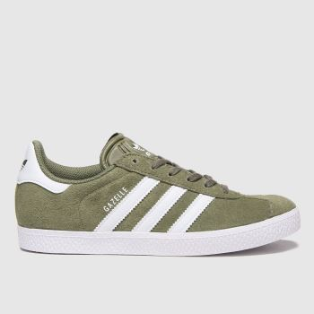 adidas Khaki Gazelle Boys Youth