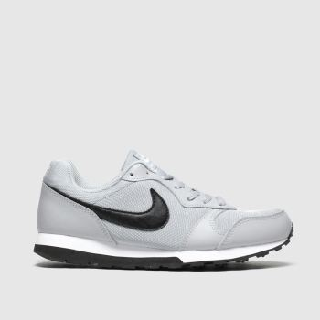 Nike Light Grey Md Runner 2 Boys Youth