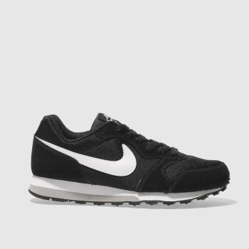 Nike Black & White Md Runner 2 Boys Youth