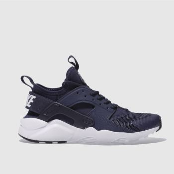 Nike Navy Huarache Run Ultra Boys Youth