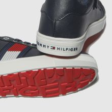 Tommy Hilfiger flag lace up sneaker 1