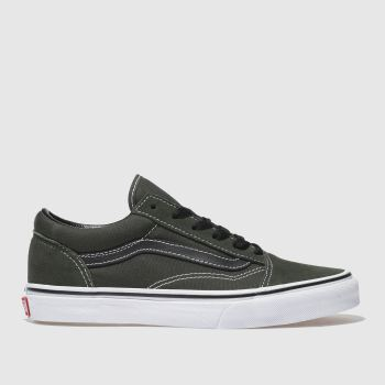Vans Khaki OLD SKOOL Boys Youth