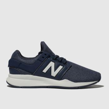 New Balance Navy & White 247 V2 Boys Youth