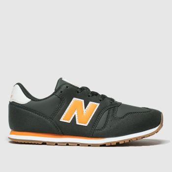 New Balance Dark Green 373 Boys Youth