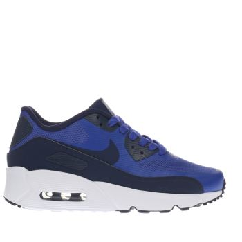Nike Blue Air Max 90 Ultra Boys Youth