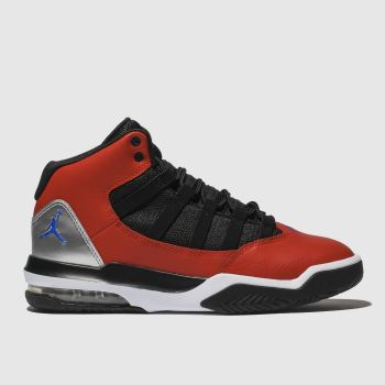 Nike Jordan Black & Red Max Aura Boys Youth