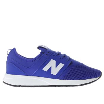 NEW BALANCE BLUE 247 BOYS YOUTH TRAINERS