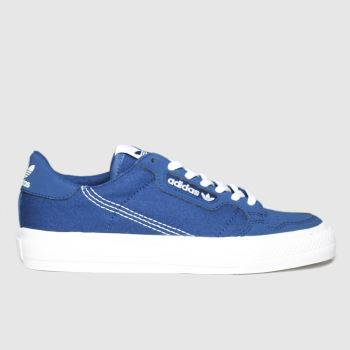 Adidas Navy Adi Continental Vulc Boys Youth
