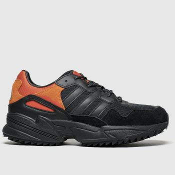 Adidas Black & Orange Yung 96 Boys Youth