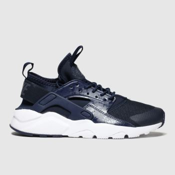 Nike Navy Air Huarache Run Ultra Boys Youth