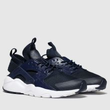 nike navy air huarache run ultra trainers youth