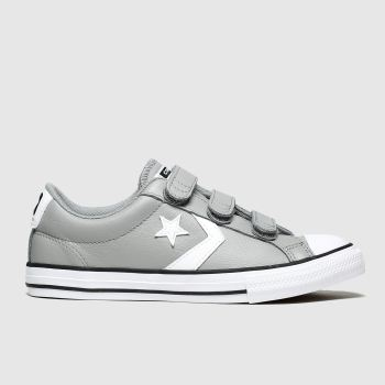 Converse Grey Star Player 3v Mars Boys Youth
