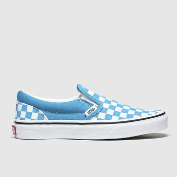 Vans Blue Classic Slip-on c2namevalue::Boys Youth
